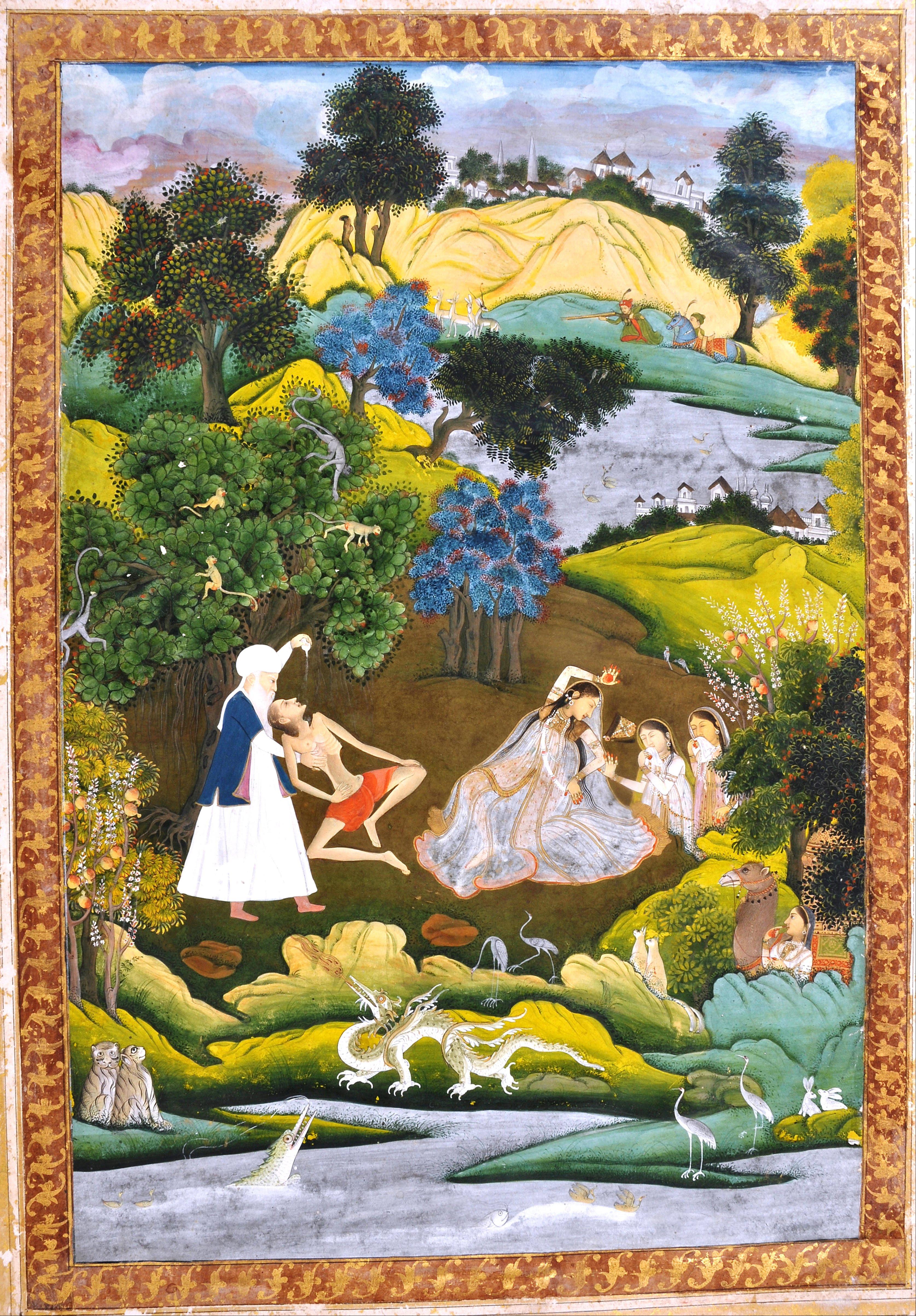 Collezione del Panj Ganj di Nezami