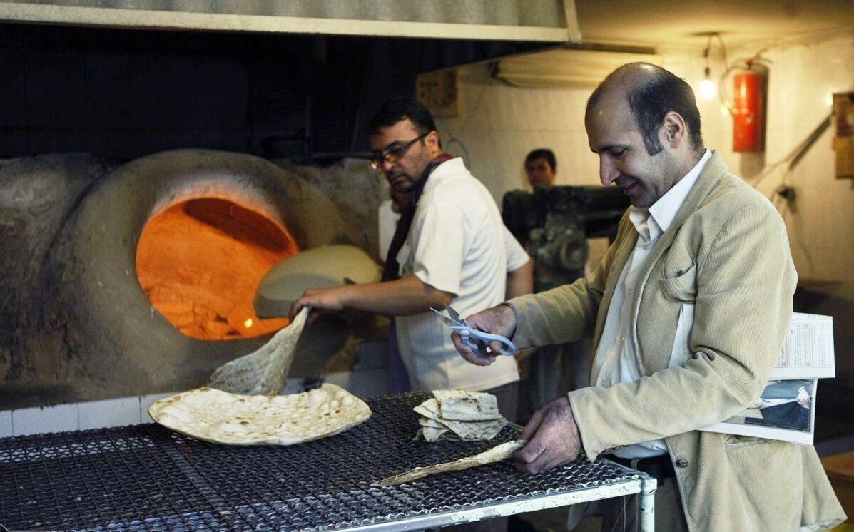 Creazione di pane piatto