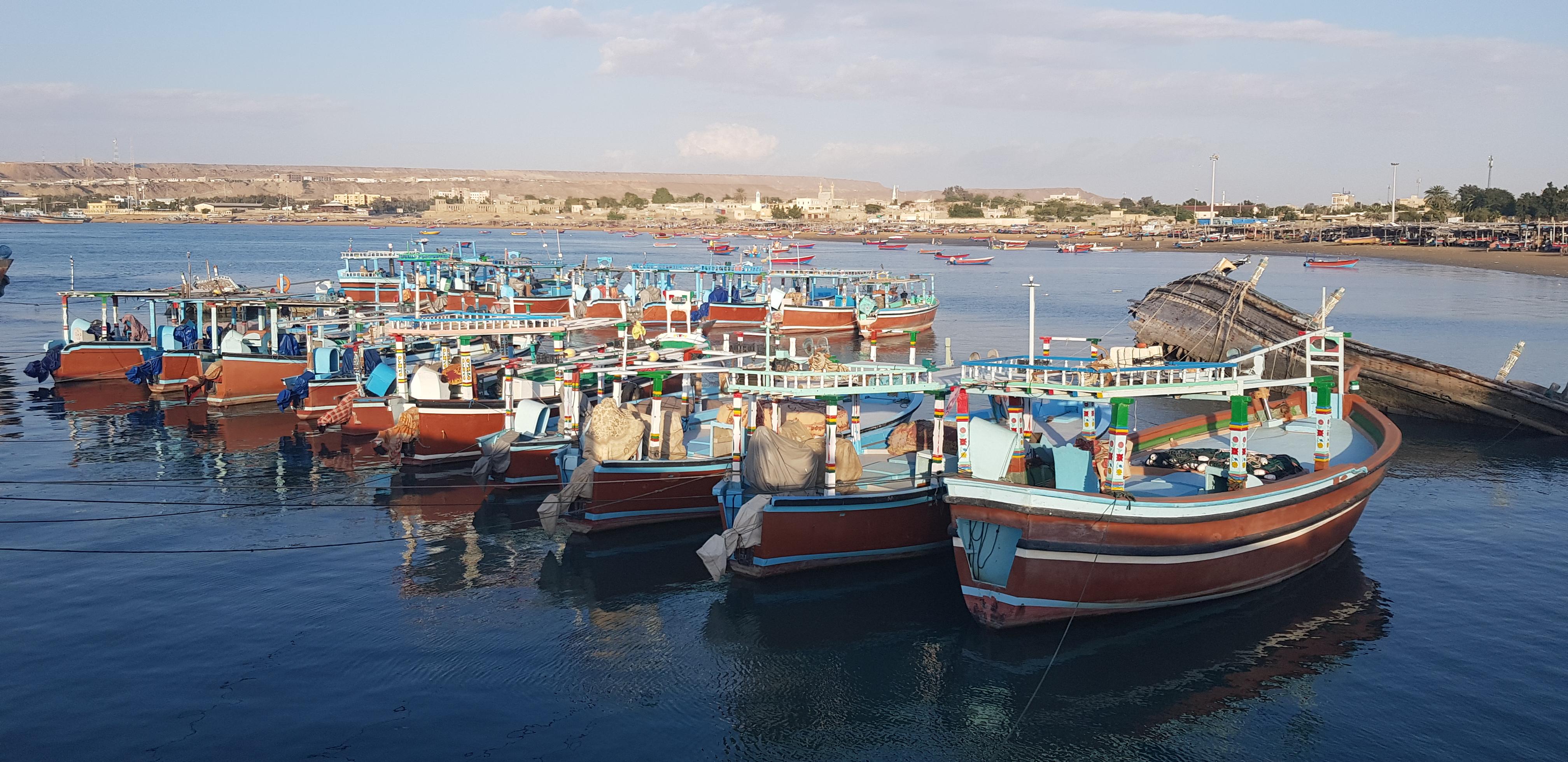 Chabahar Abilità tradizionali di costruzione e navigazione delle barche Iraniane di Lenj nel Golfo Persico